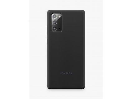 Samsung Note 20 - Silikónové púzdro čierne EF-PN980TBEGUE