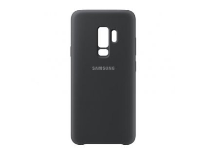 samsung silicone cover for galaxy s9 plus black