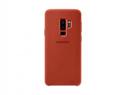 au alcantara cover for galaxy s9 plus ef xg965aregww backred 93445623 61edc3ffb16d4deabd6112a5eded13db