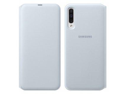Samsung A50 - Knižkové púzdro biele EF-WA505PWEGWW