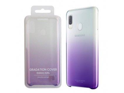 pol pl Samsung Galaxy A20E etui Gradation Cover EF AA202CVEGWW polprzezroczysty fioletowy 8757 2