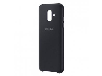 Samsung A6 2018 - Dual Layer čierny EF-PA600CBEGWW