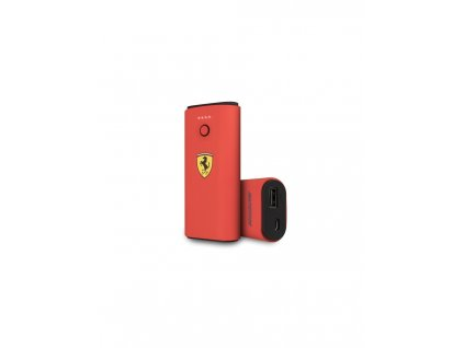 ferrari powerbank fespbas50re 5000 mah czerwony red on track