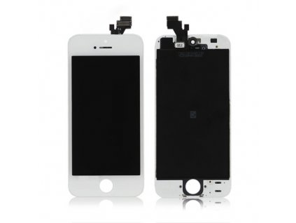 iPhone 5 - LCD + Dotyková plocha biela ORIGINÁL