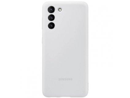 Samsung S21 - Silikonové púzdro bledo šedé EF-PG991TJEGWW