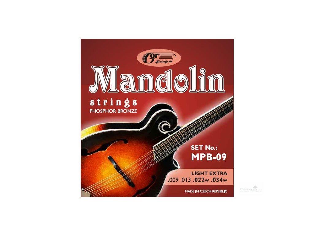 Mandolin MBR (bronze 80/20) - mandolína