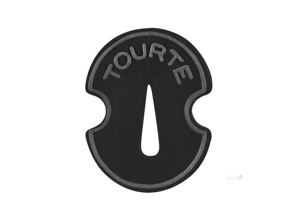 "Tourte - gumové dusítko, ""tvar houslí"""