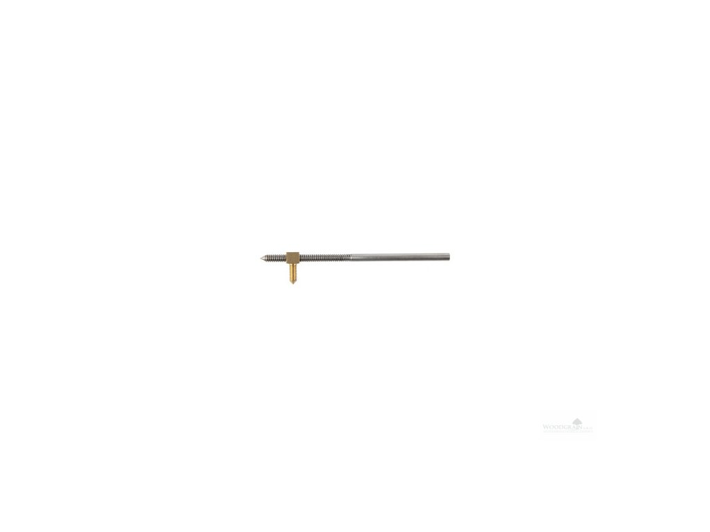 Šroub smyčce s bronzovou/mosaznou matkou (bez hlavičky) - řezaný závit, FR