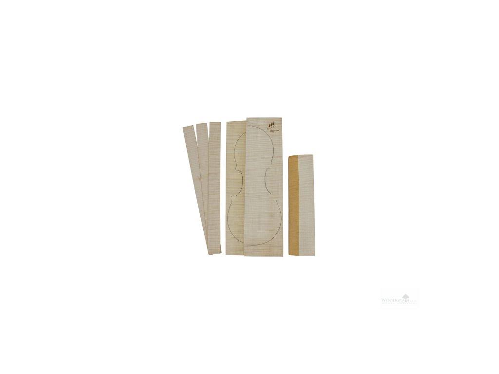 Sada javorových přířezů Pahler Excellent zadní deska, krk, luby