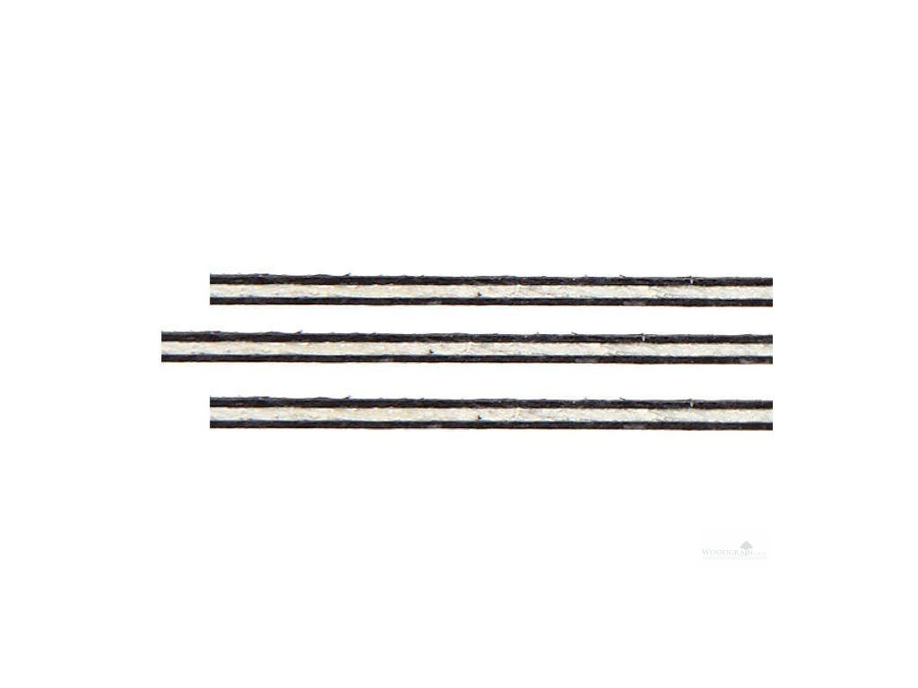 Sada výložek (rovné, javor/javor/javor, délka 800 mm)