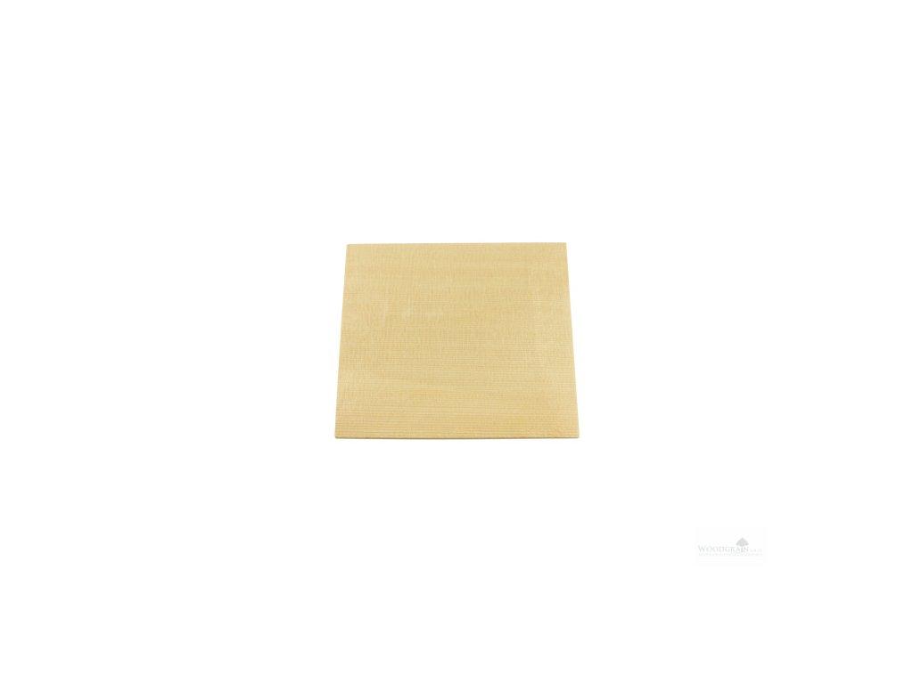 Podklad ozvučného otvoru (smrk) - 180 x 180 x 3 mm
