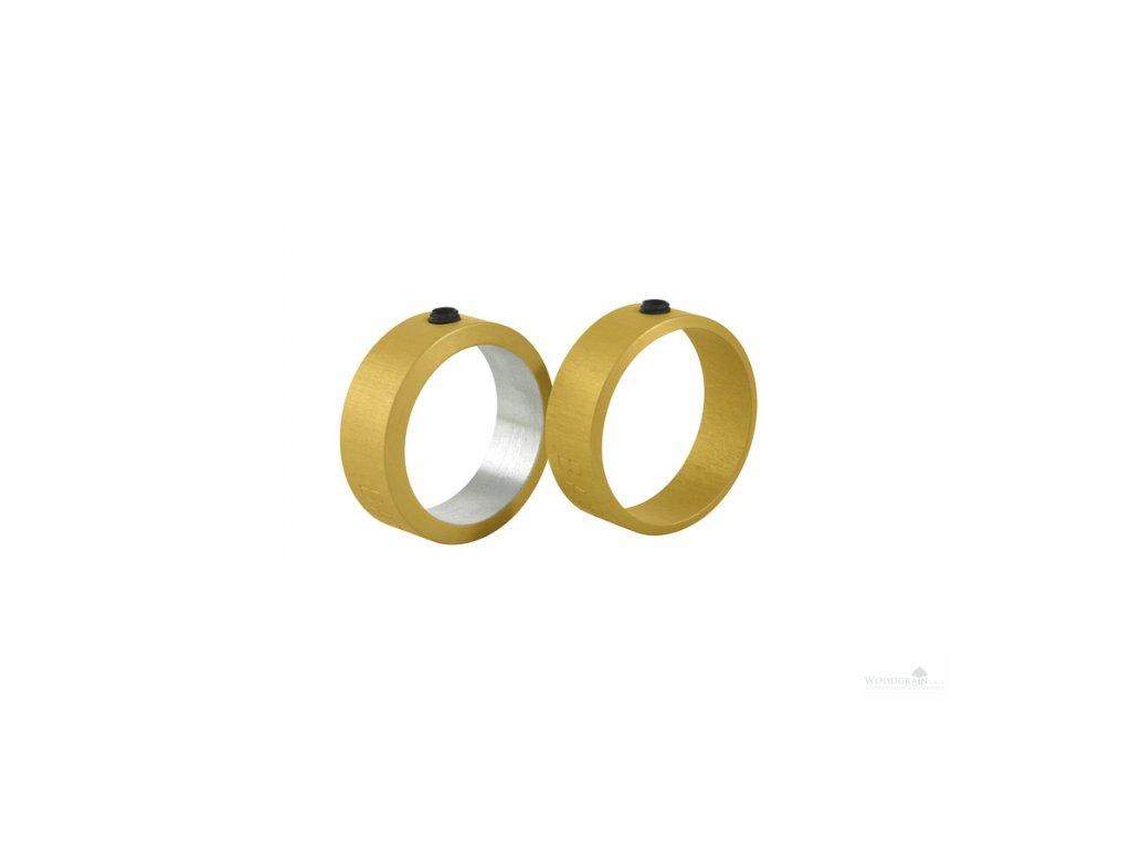 Prstencové dorazy pro výstružník bodců - 2 kusy (kontrabas)