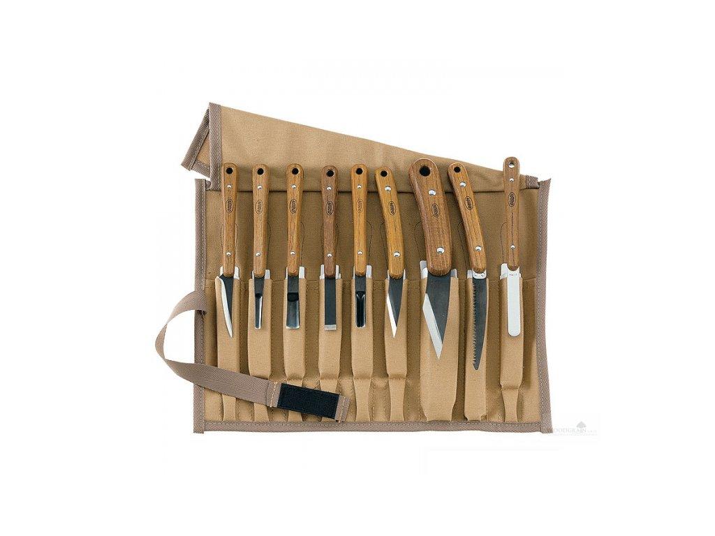 Sada řezbářských nožů - 9 ks