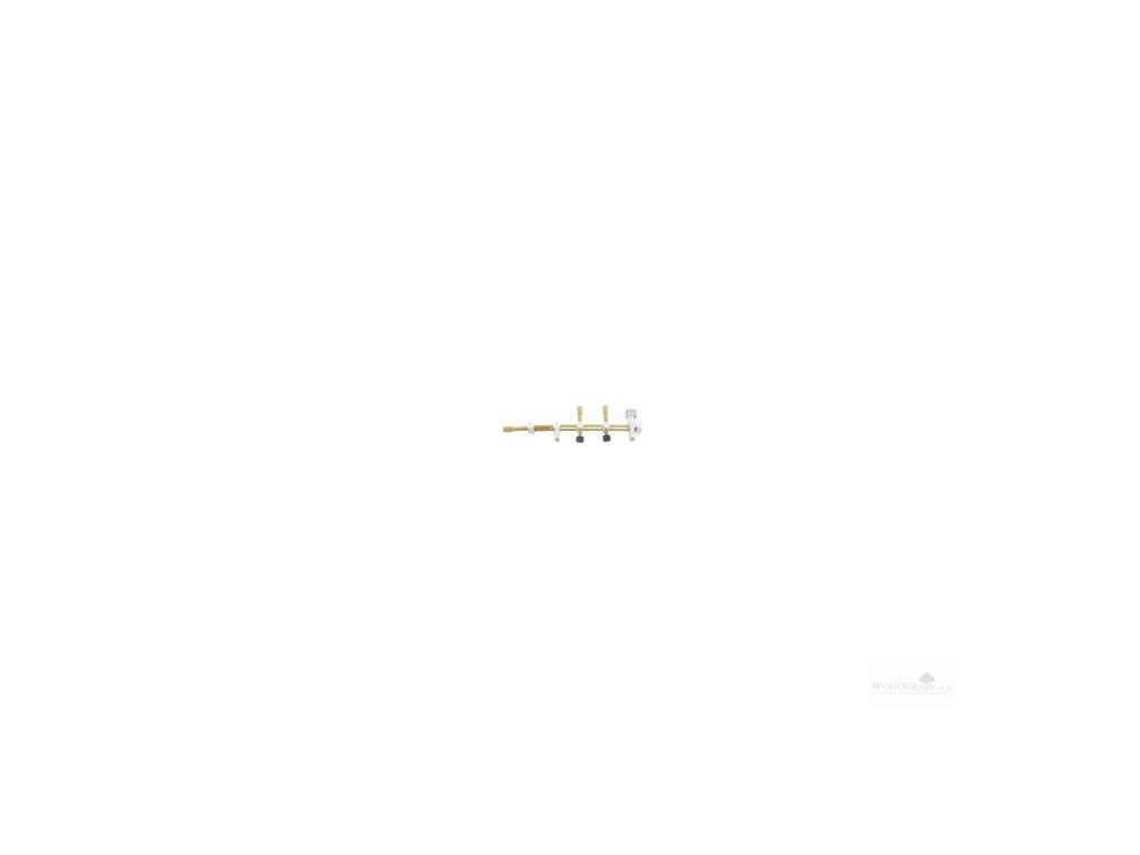 Přípravek k lepení prasklin mezi f-otvory housle/viola - 100 mm