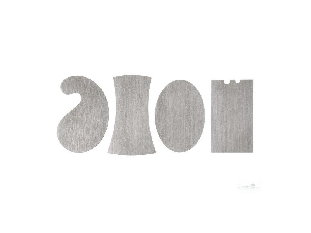 Sada mini cidlinek ruzných tvarů - 4 ks