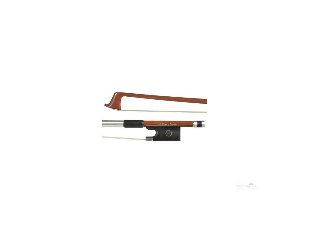 "Karbonový smyčec Articul Amazon (design ""fernambuk"") /housle/"