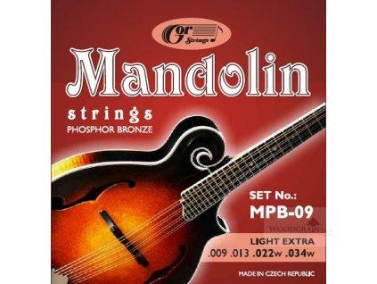 Mandolin MPB - mandolína (phosphor bronze)