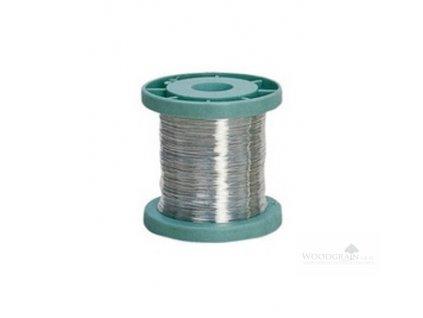 Postříbřený měděný drát (100 g)