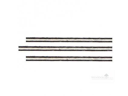 Sada výložek (rovné, fibr/javor/fibr, délka 800 mm)
