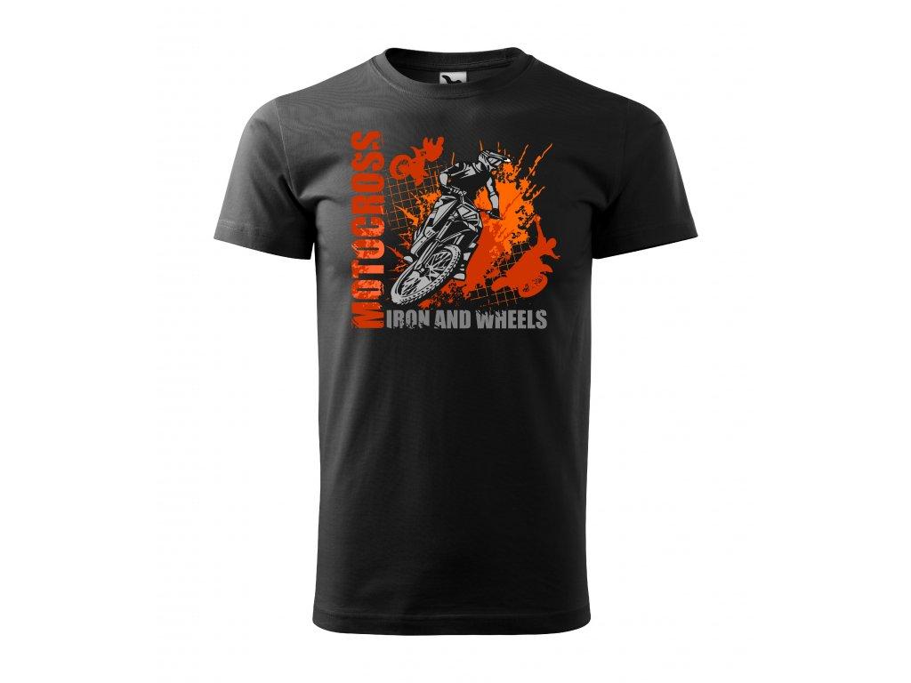 129 01 Motocross iron and wheels