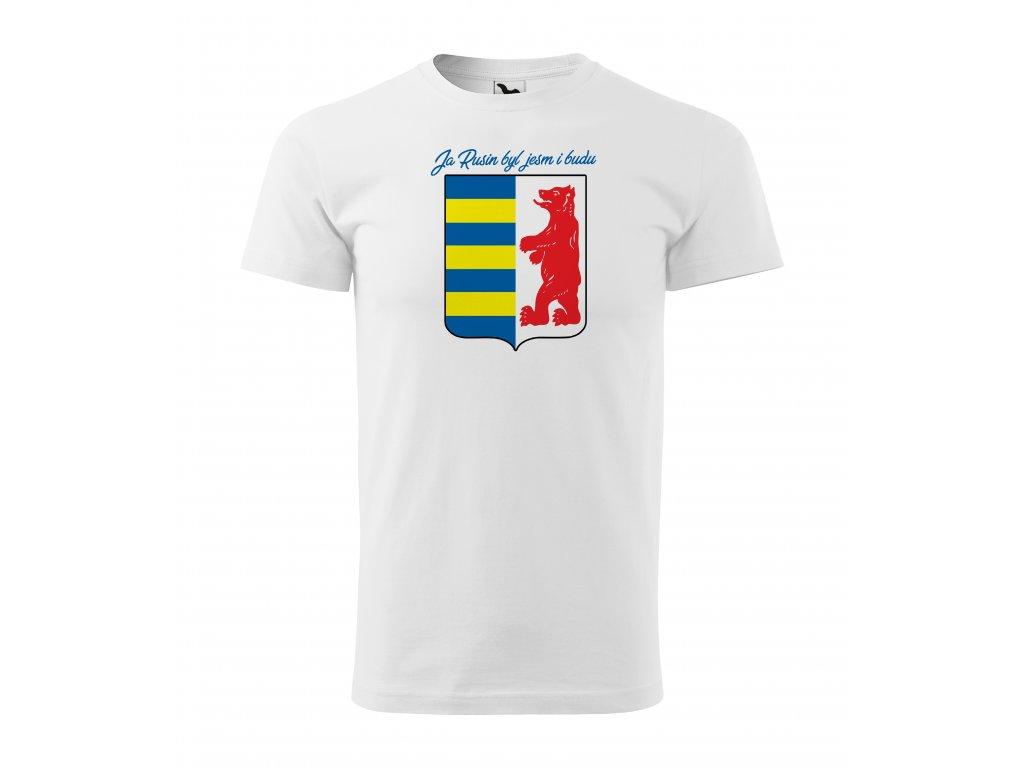 Pánske tričko Ja rusin byl jesm i budu
