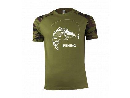 121 Pánske tričko Fishing