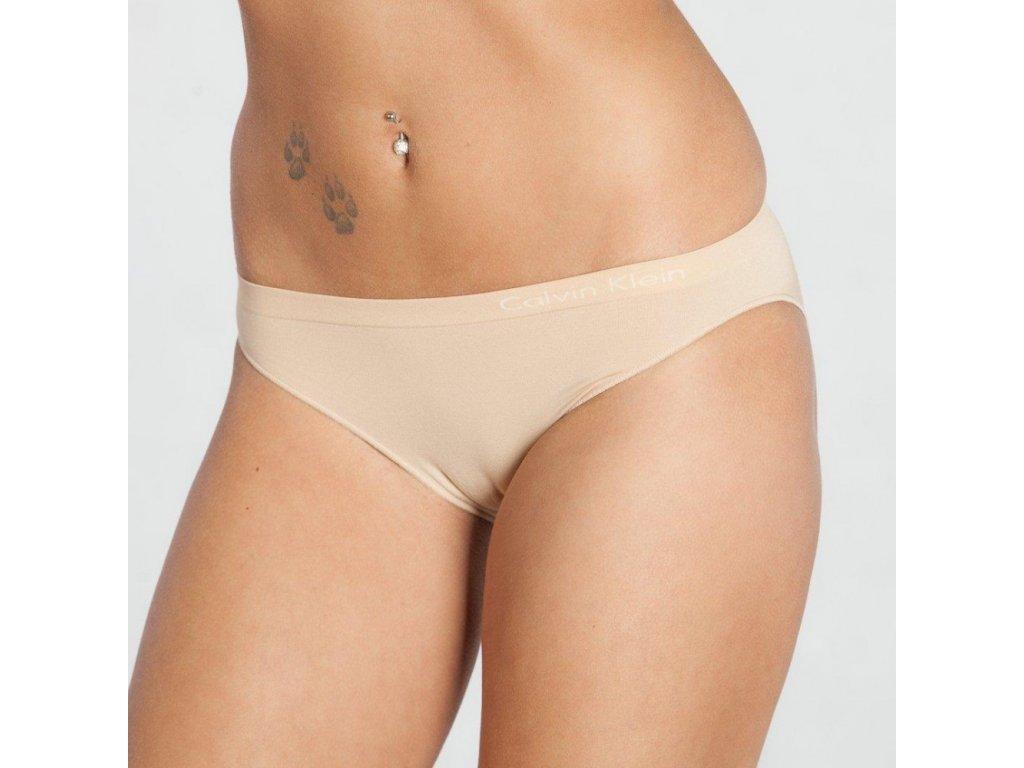 Kalhotky QD3545E-20N béžová - Calvin Klein