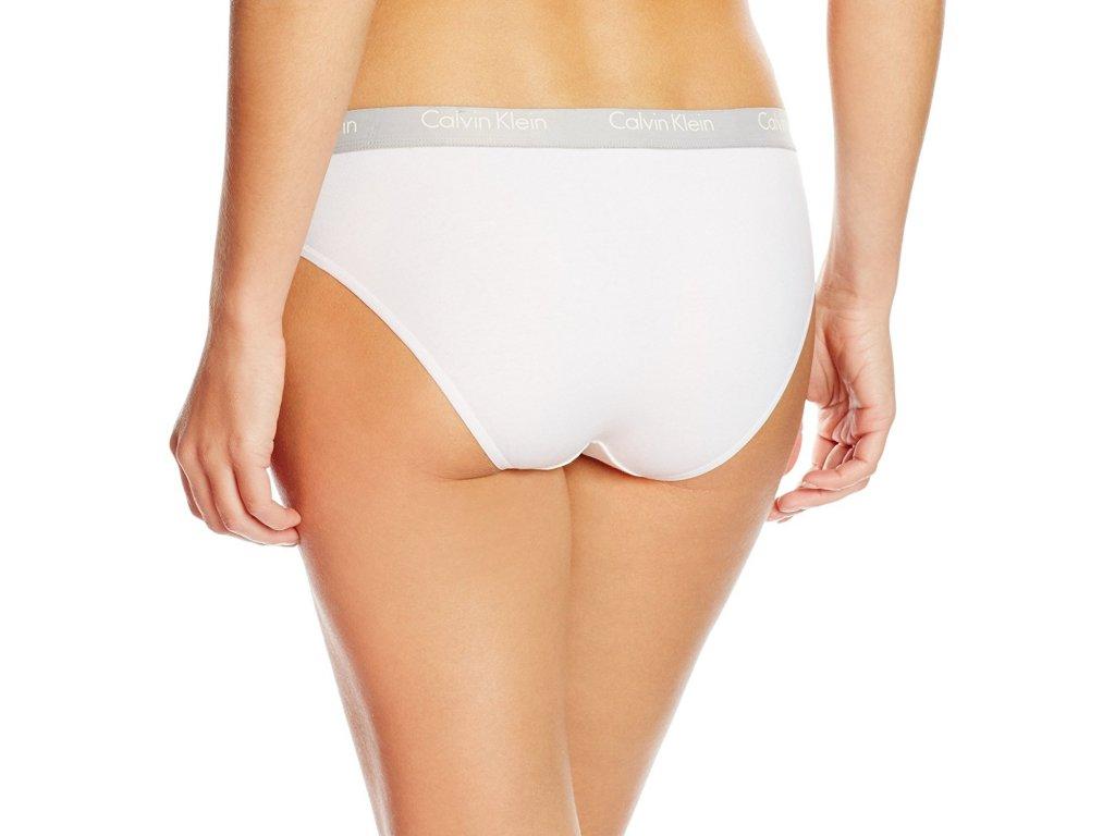 Kalhotky 2pcs QD3584E-100 bílá - Calvin Klein