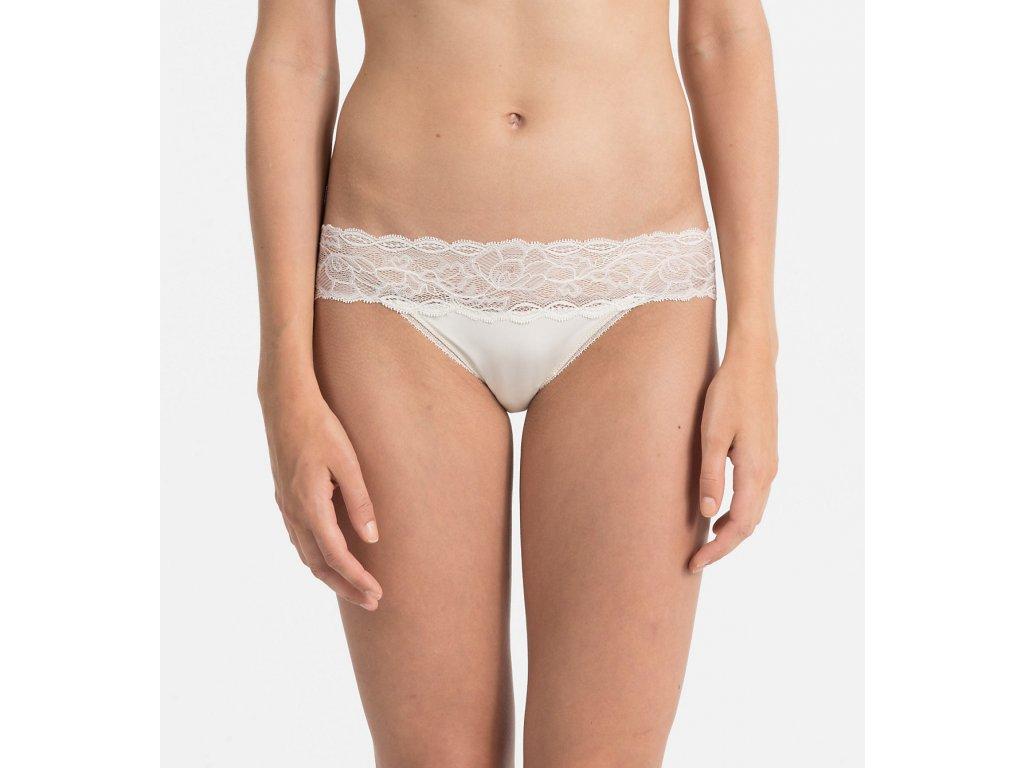 Kalhotky QF1200E slonovinová - Calvin Klein