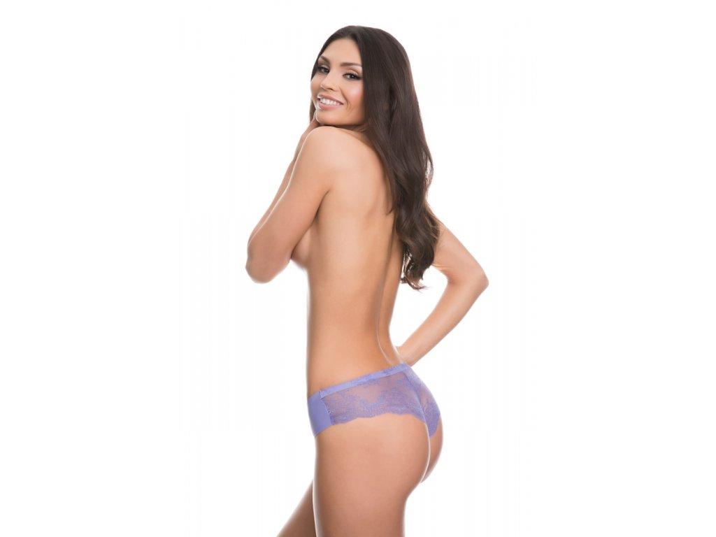 Kalhotky Tanga fialová - Julimex