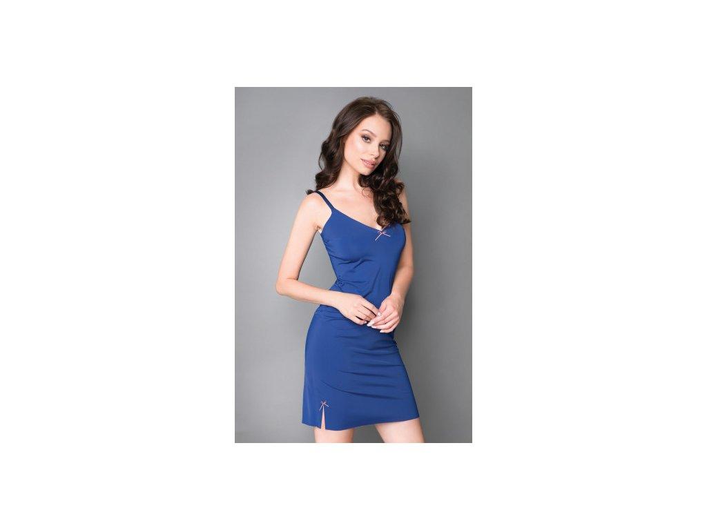 Dámská noční košilka Sweet Dreams - tmavě modrá - Julimex