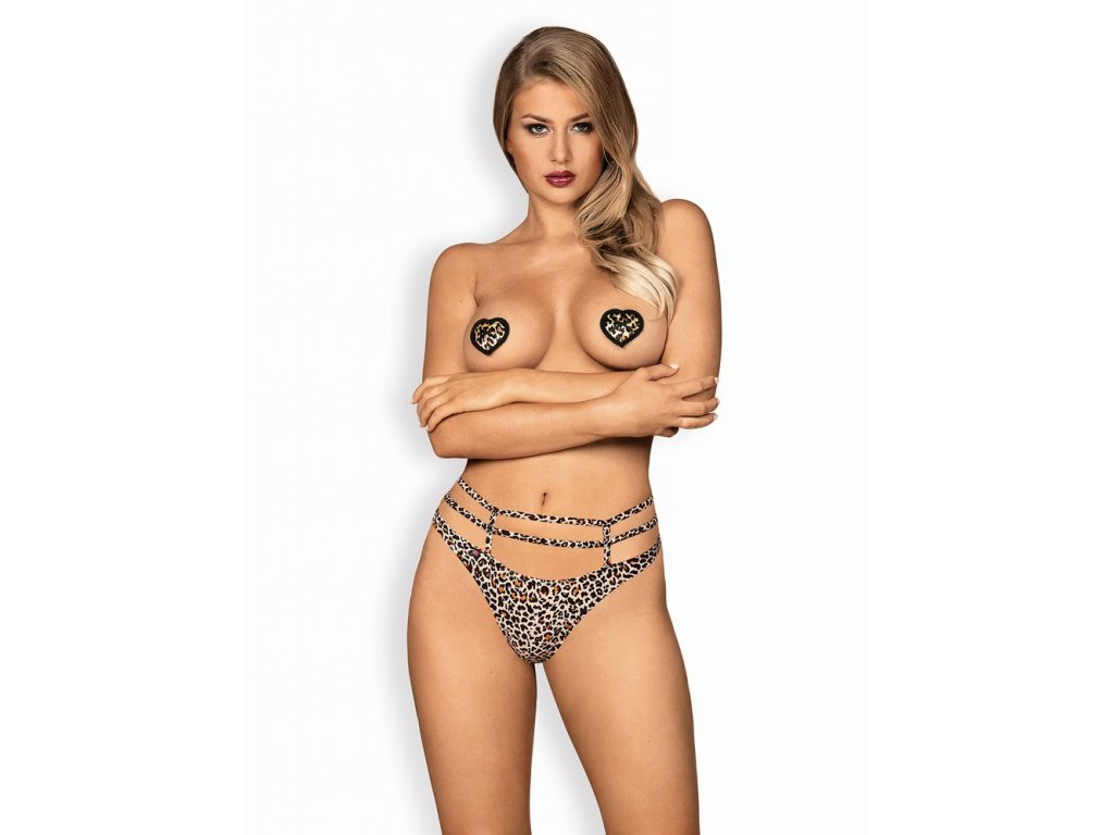 Úžasné lepítka na bradavky Selvy nipple covers - Obsessive