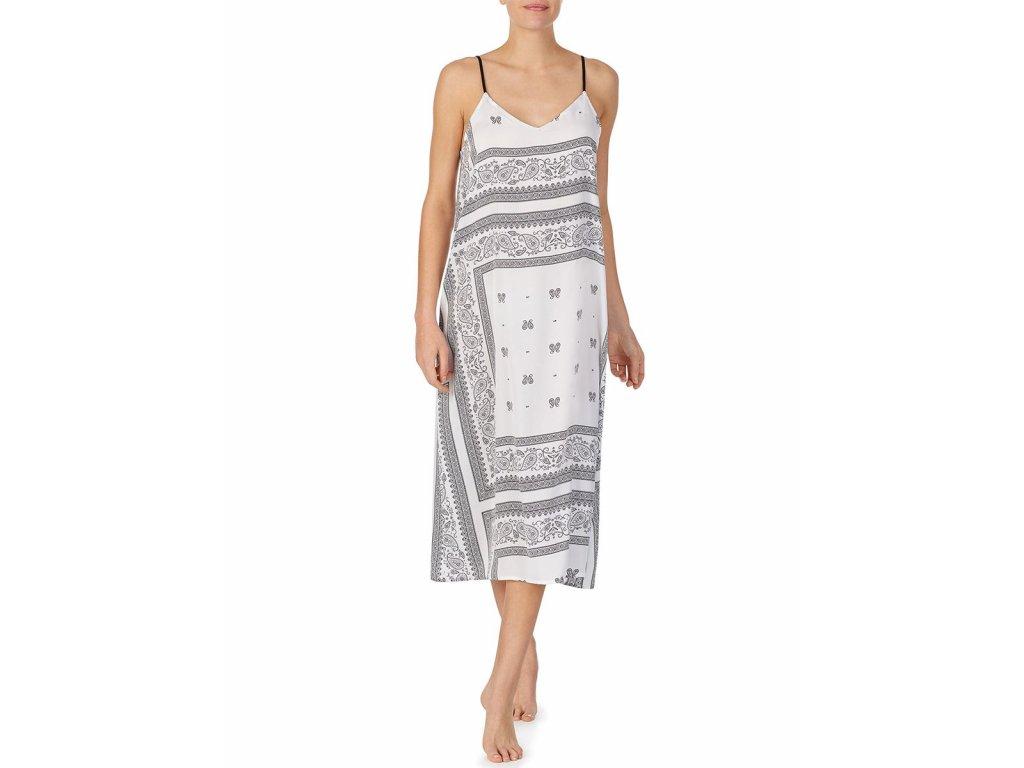 Noční košilka YI2622407-101 bílá - DKNY