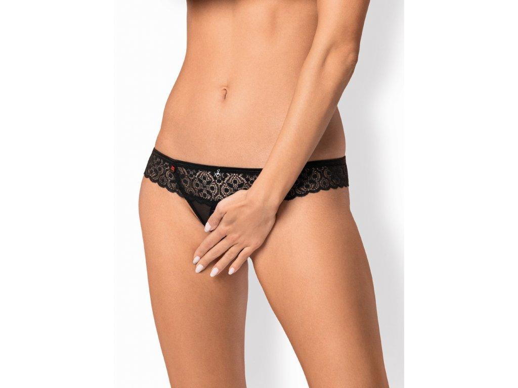 Žhavá tanga Shibu crotchless thong - Obsessive