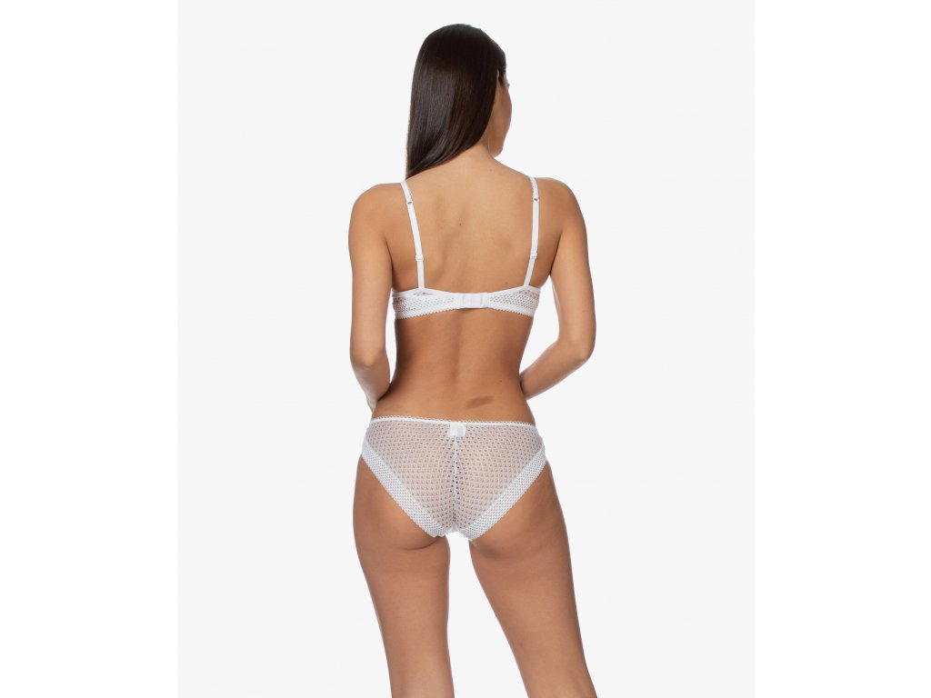 Kalhotky QF5895E-100 bílá - Calvin Klein