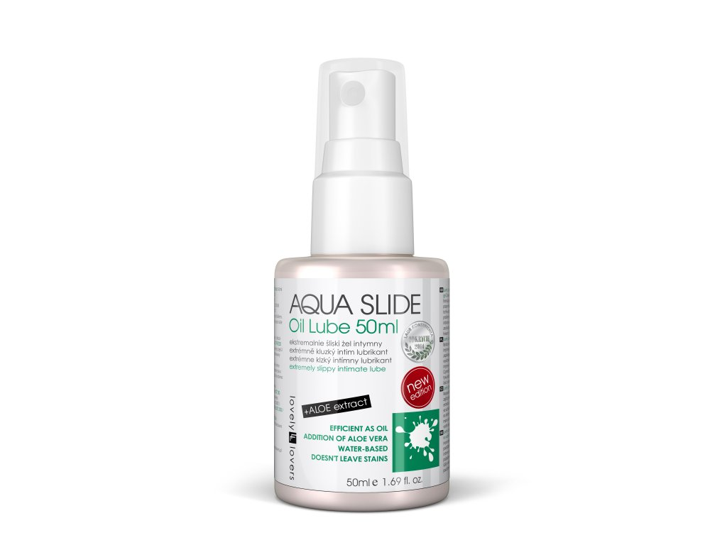 Aqua slide 50ml lubrikační sprej na vodní bázi