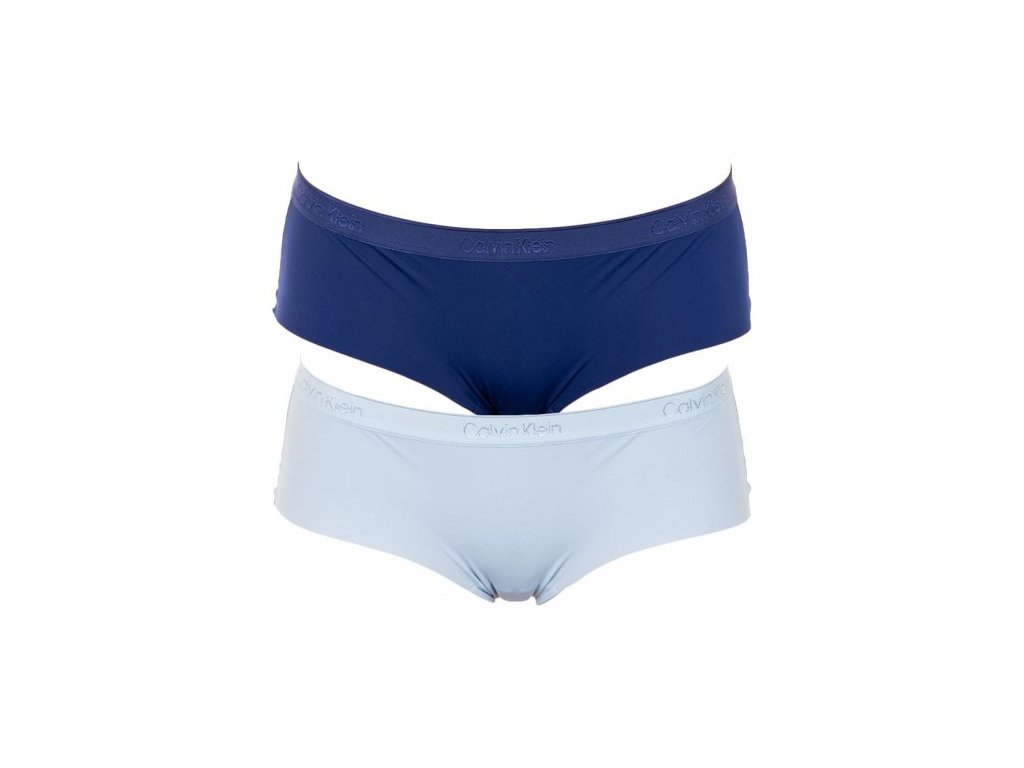 Kalhotky 2psc QD3696E-AAN modrá - Calvin Klein