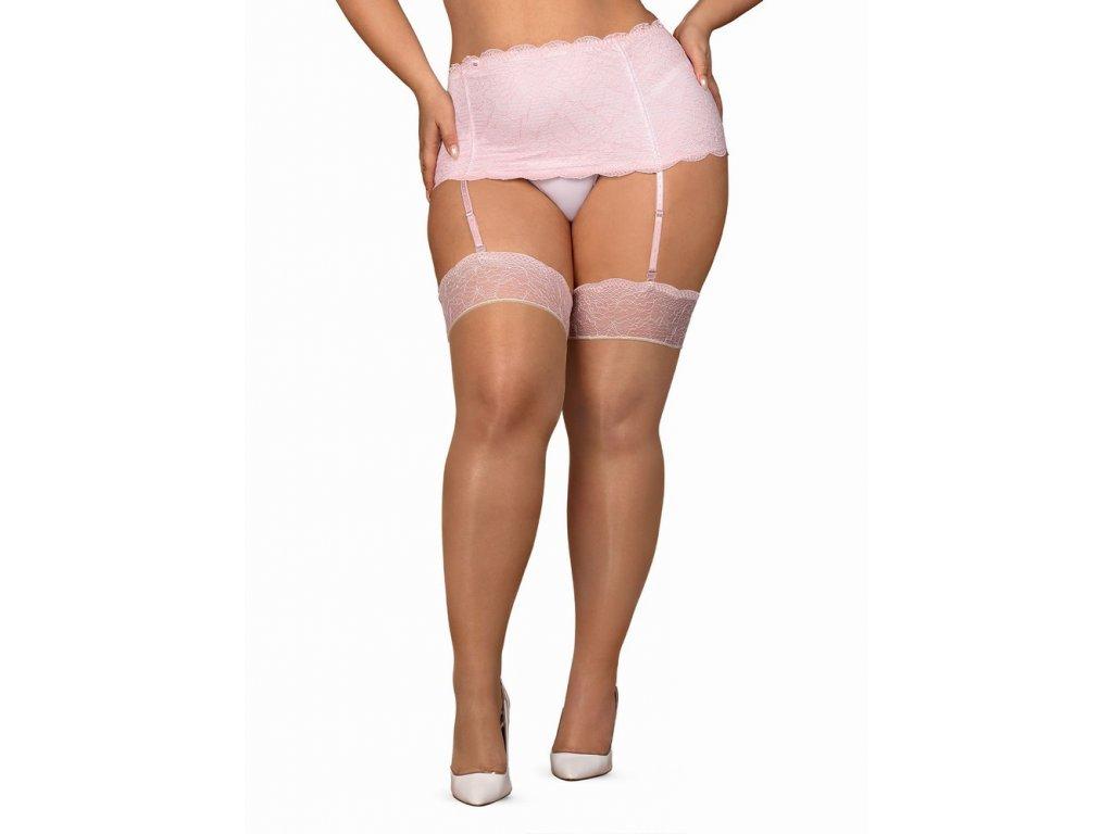 Sexy punčochy Girlly stockings XXL - Obsessive
