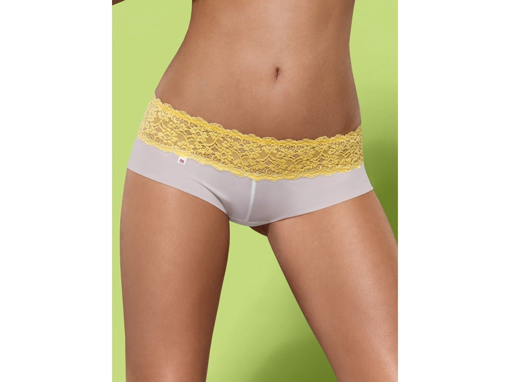 Kalhotky a tanga Lacea shorties a thong duo pack - Obsessive