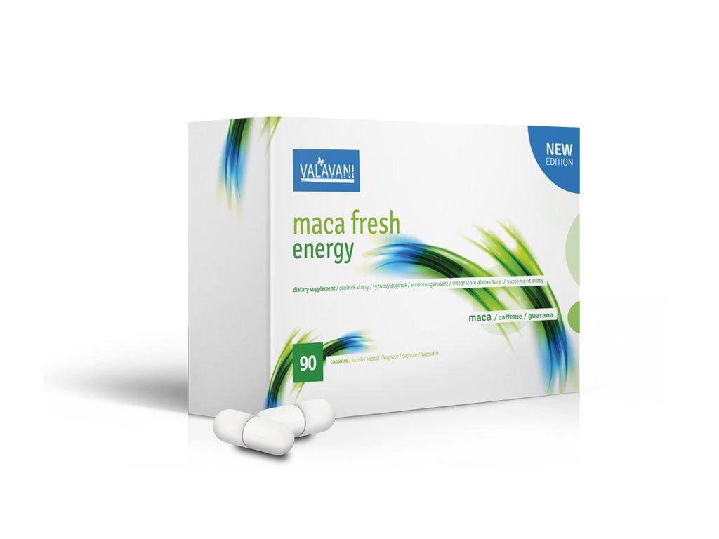 Maca fresh energy 90 kapslí