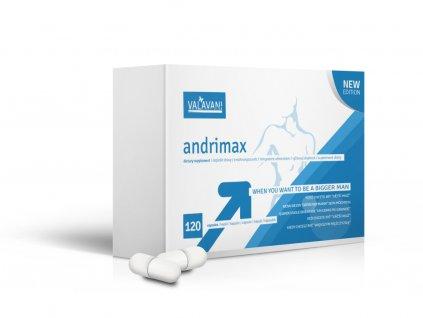 Andrimax 120kapslí - pro větší penis a lepší erekci