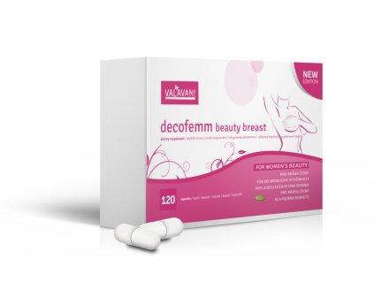 DecoFemm Beauty Breast 120 kapslí - nejen pro krásnější poprsí
