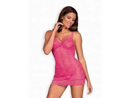 Sladká košilka 860-CHE pink - Obsessive