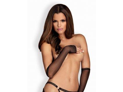 Sexy rukavičky Darkie mittens - Obsessive