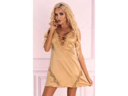 Zlatá košilka Landim gold - LivCo Corsetti