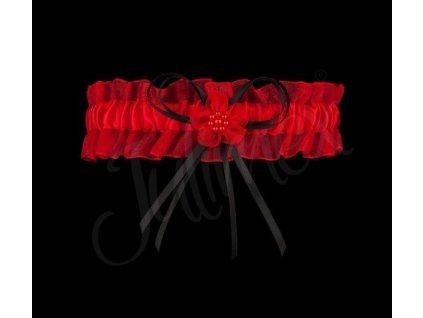 Podvazek PW-22 červená - Julimex