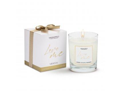 afrodiziakální svíčka Love me Meadow