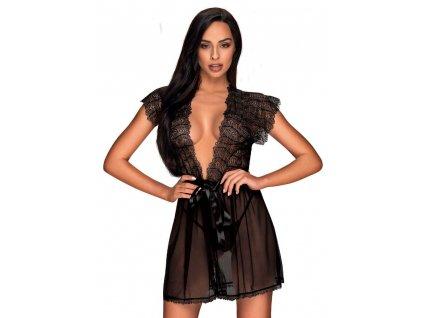 Sexy župan Romanesa peignoir - Obsessive