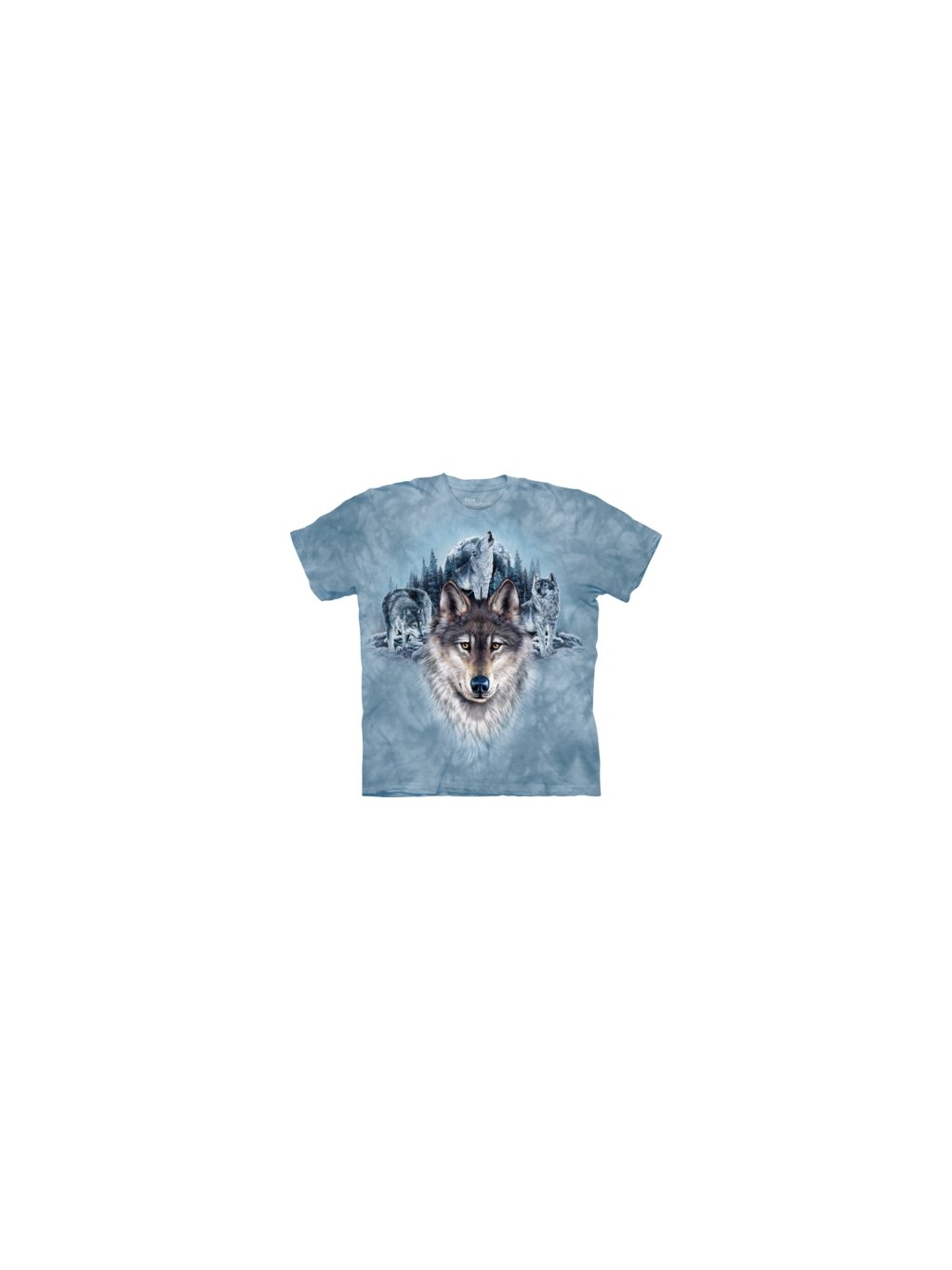 Blue Moon Wolves Wolf T Shirt by the Mountain