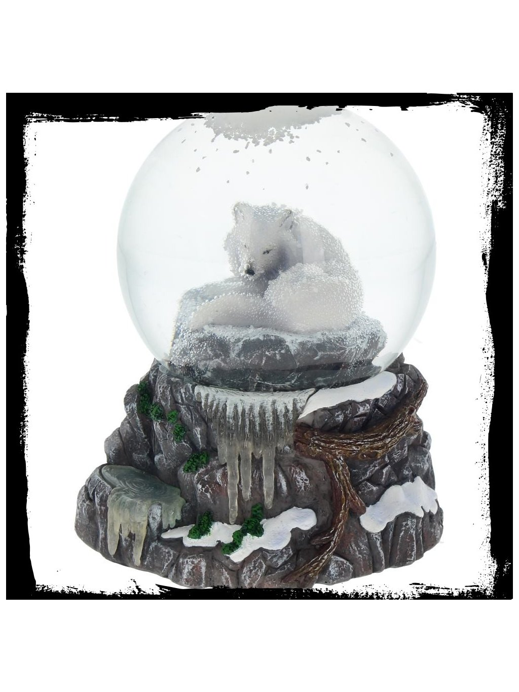 guardian of the north snowglobe 11cm